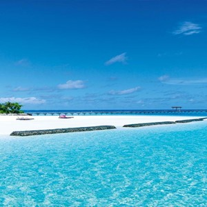 Constance Moofushi - Luxury Maldives Honeymoon Packages - lagoon view