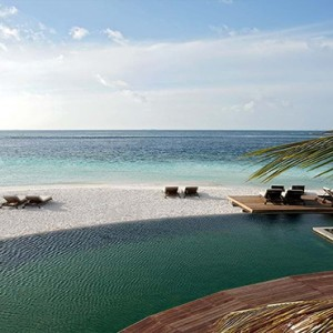 Constance Moofushi - Luxury Maldives Honeymoon Packages - pool view