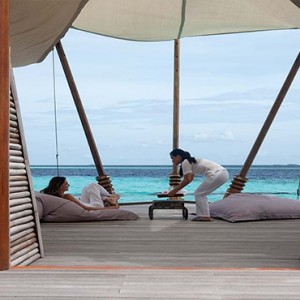 Constance Moofushi - Luxury Maldives Honeymoon Packages - spa relax