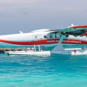Diamonds Athuruga - Luxury Maldives Honeymoon Packages - Seaplane transfer