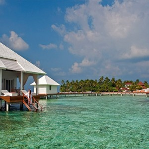 Diamonds Athuruga - Luxury Maldives Honeymoon Packages - Water Villa exterior