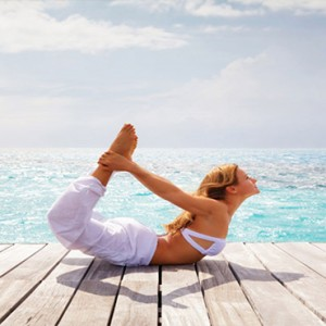 Diamonds Athuruga - Luxury Maldives Honeymoon Packages - Yoga