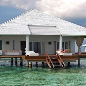 Diamonds Athuruga - Luxury Maldives Honeymoon Packages - overwater villa view