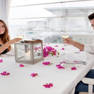 Diamonds Athuruga - Luxury Maldives Honeymoon Packages - romantic dining