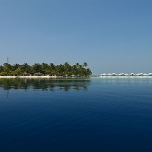 Diamonds Athuruga - Luxury Maldives Honeymoon Packages - view of resort