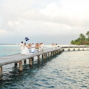 Diamonds Athuruga - Luxury Maldives Honeymoon Packages - wedding