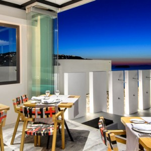 Greece Honeymoon Packages Ambassador Hotel Santorini Cabo Restaurant
