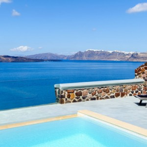 Greece Honeymoon Packages Ambassador Hotel Santorini Infinity Cave Suite 2