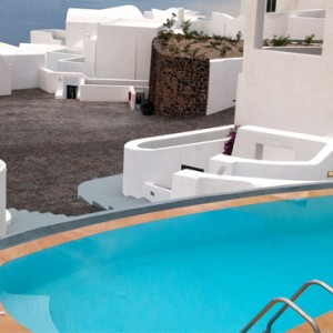 Greece Honeymoon Packages Ambassador Hotel Santorini Luxury Suite 3