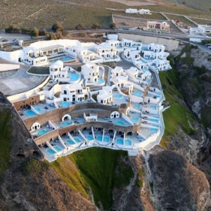 Greece Honeymoon Packages Ambassador Hotel Santorini Exterior