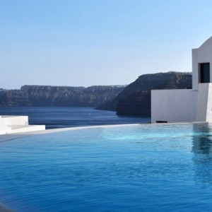 Greece Honeymoon Packages Ambassador Hotel Santorini Pool