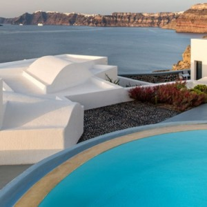 Greece Honeymoon Packages Ambassador Hotel Santorini Pool 3