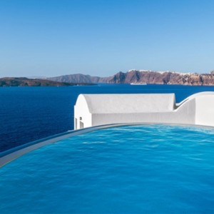 Greece Honeymoon Packages Ambassador Hotel Santorini Pool 4