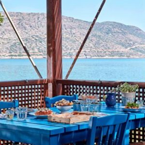 Greece Honeymoon Packages Blue Palace Resort And Spa Blue Door