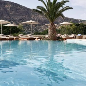 Greece Honeymoon Packages Blue Palace Resort And Spa Outdoor Pool
