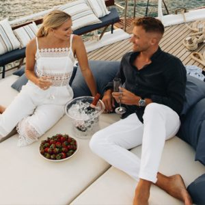 Greece Honeymoon Packages Blue Palace Resort And Spa Romantic Caique Trip