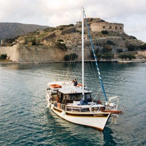 Greece Honeymoon Packages Blue Palace Resort And Spa Romantic Caique Trip1