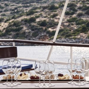 Greece Honeymoon Packages Blue Palace Resort And Spa Wine Tasting