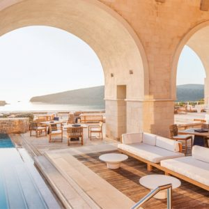 Greece Honeymoon Packages Blue Palace Resort And Spa Lounge Bar