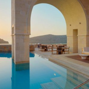 Greece Honeymoon Packages Blue Palace Resort And Spa Pool 2