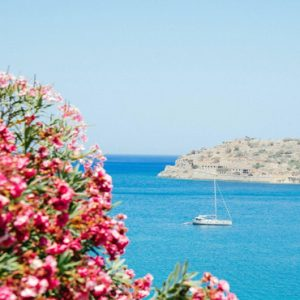 Greece Honeymoon Packages Blue Palace Resort And Spa View From Resort