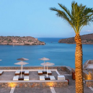 Greece Honeymoon Packages Blue Palace Resort And Spa Views