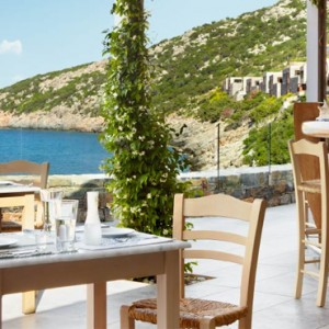 Greece Honeymoon Packages Daios Cove Greece Dining 7