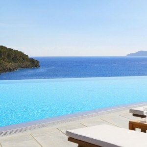 Greece Honeymoon Packages Daios Cove Greece Pool 2