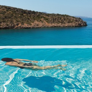 Greece Honeymoon Packages Daios Cove Greece Pool 3