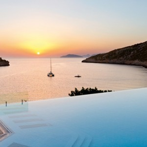 Greece Honeymoon Packages Daios Cove Greece Pool 4