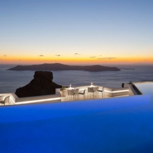Greece Honeymoon Packages Grace Santorini Pool