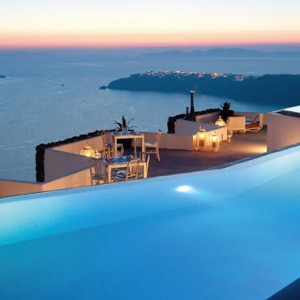 Greece Honeymoon Packages Grace Santorini Pool 5