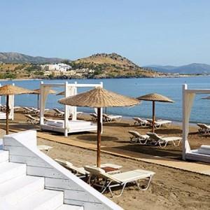 Greece Honeymoon Packages Lindos Blu Hotel Beach