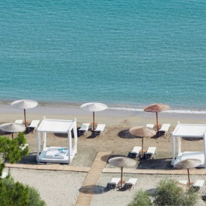 Greece Honeymoon Packages Lindos Blu Hotel Beach 4