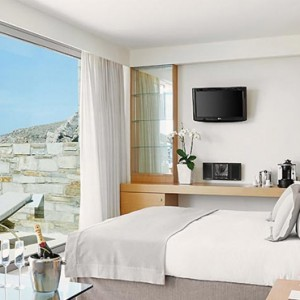 Greece Honeymoon Packages Lindos Blu Hotel Deluxe Room