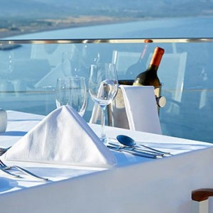 Greece Honeymoon Packages Lindos Blu Hotel Dining 3