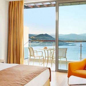 Greece Honeymoon Packages Lindos Blu Hotel Double Guestroom