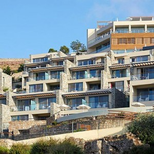 Greece Honeymoon Packages Lindos Blu Hotel Exterior