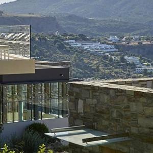 Greece Honeymoon Packages Lindos Blu Hotel Exterior 3