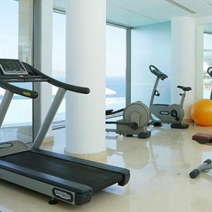 Greece Honeymoon Packages Lindos Blu Hotel Gym