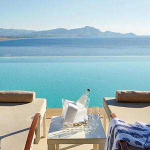 Greece Honeymoon Packages Lindos Blu Hotel Pool