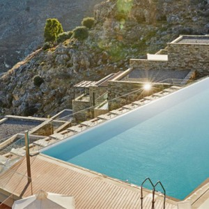 Greece Honeymoon Packages Lindos Blu Hotel Pool 5
