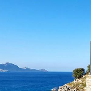 Greece Honeymoon Packages Lindos Blu Hotel Location