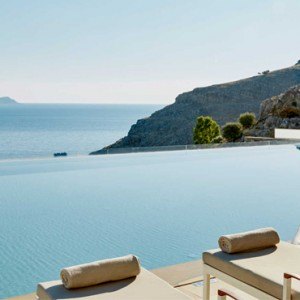 Greece Honeymoon Packages Lindos Blu Hotel Loungers