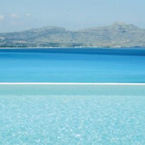 Greece Honeymoon Packages Lindos Blu Hotel Views