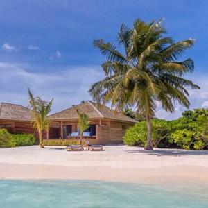Hurawalhi Island - Luxury Maldives Honeymoon Packages - Beach Villa beach