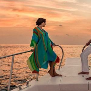 Hurawalhi Island - Luxury Maldives Honeymoon Packages - Boat excursion