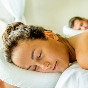 Hurawalhi Island - Luxury Maldives Honeymoon Packages - Couple massage
