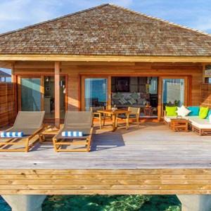 Hurawalhi Island - Luxury Maldives Honeymoon Packages - Ocean Villas exterior