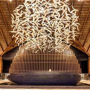 Hurawalhi Island - Luxury Maldives Honeymoon Packages - Reception